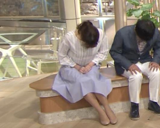 三谷紬アナ テレ朝一の巨乳アナキャプ・エロ画像8