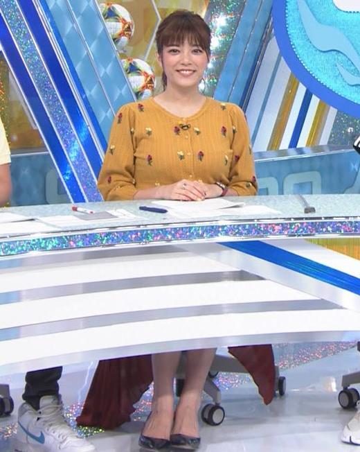 三谷紬アナ 「やべっちF.C.」キャプ・エロ画像2