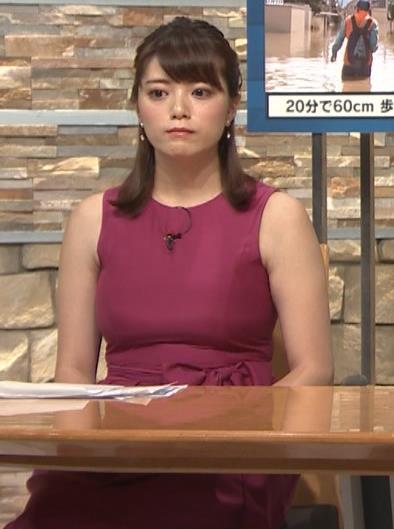 三谷紬アナ ムチムチでたまらない女子アナキャプ・エロ画像4