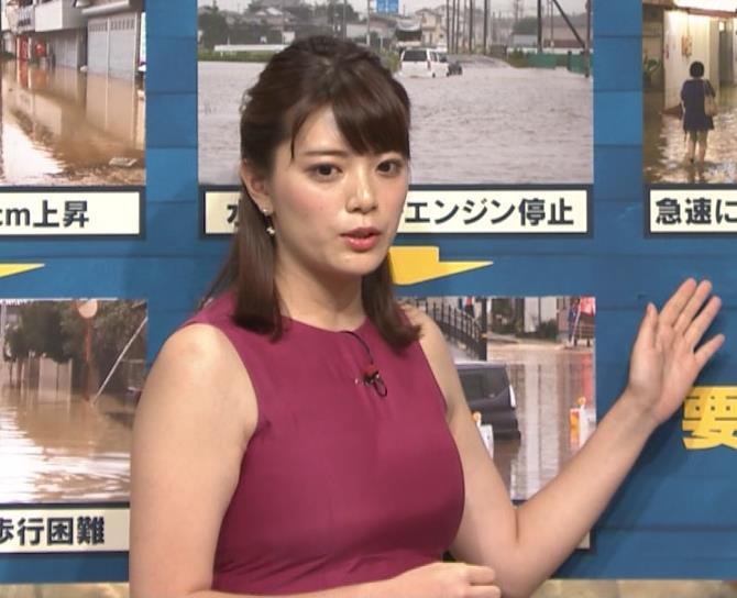 三谷紬アナ ムチムチでたまらない女子アナキャプ・エロ画像7