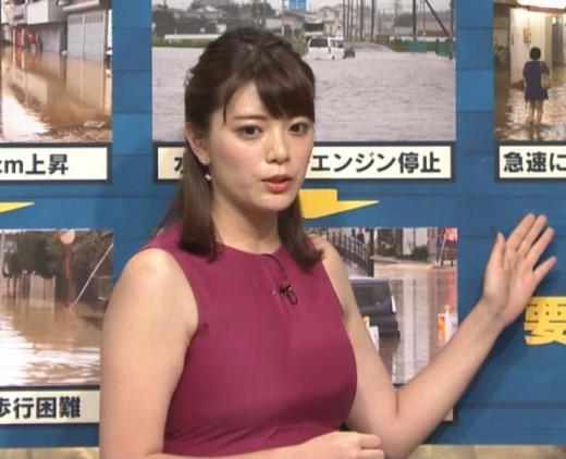 三谷紬 ムチムチでたまらない女子アナキャプ画像(エロ・アイコラ画像)