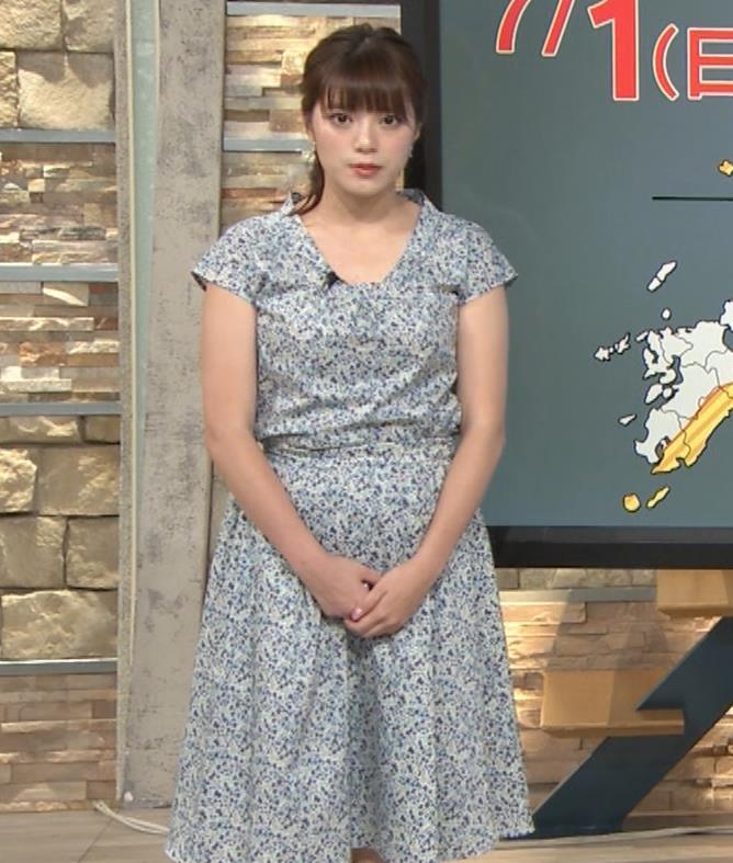 三谷紬アナ フェチ向け?妊娠してそうな下っ腹キャプ・エロ画像7