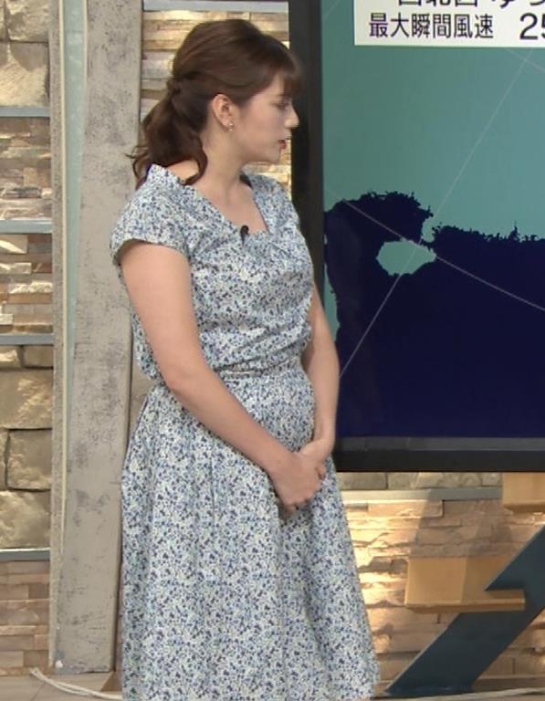 三谷紬アナ フェチ向け?妊娠してそうな下っ腹キャプ・エロ画像8