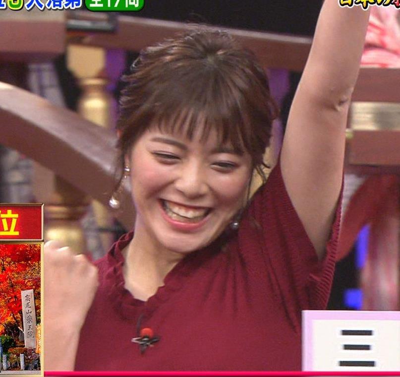 三谷紬アナ すげぇ横乳キャプ・エロ画像7