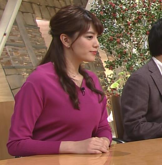 アナ TV朝日の爆乳アナキャプ・エロ画像2