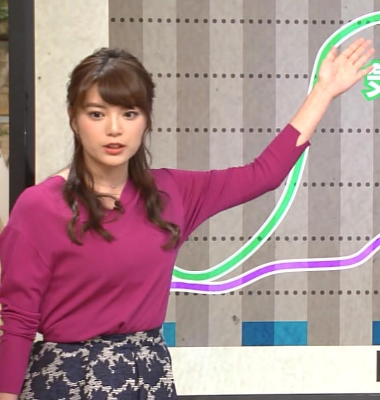 アナ TV朝日の爆乳アナキャプ・エロ画像4