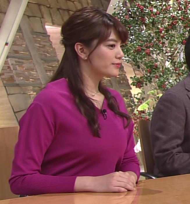 アナ TV朝日の爆乳アナキャプ・エロ画像6