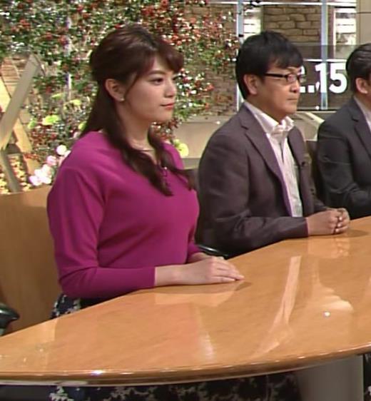 三谷紬 テレビ朝日の爆乳アナ!?キャプ画像(エロ・アイコラ画像)