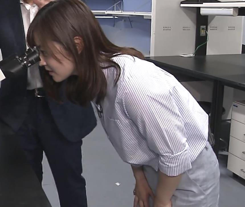 水卜麻美アナ ピタパンお尻キャプ・エロ画像11