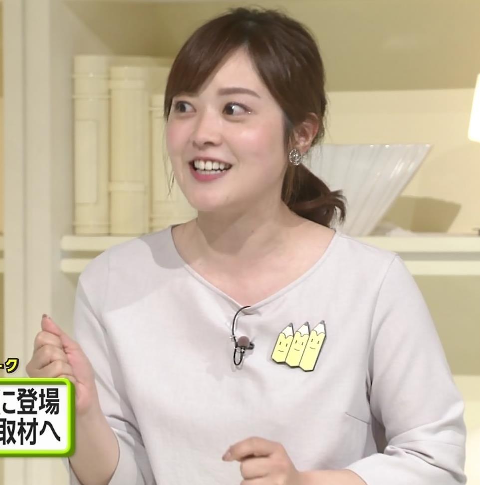 水卜麻美アナ ピタパンお尻キャプ・エロ画像12
