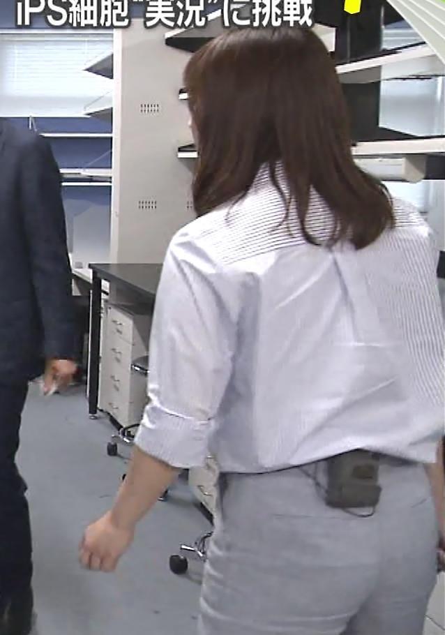 水卜麻美アナ ピタパンお尻キャプ・エロ画像6