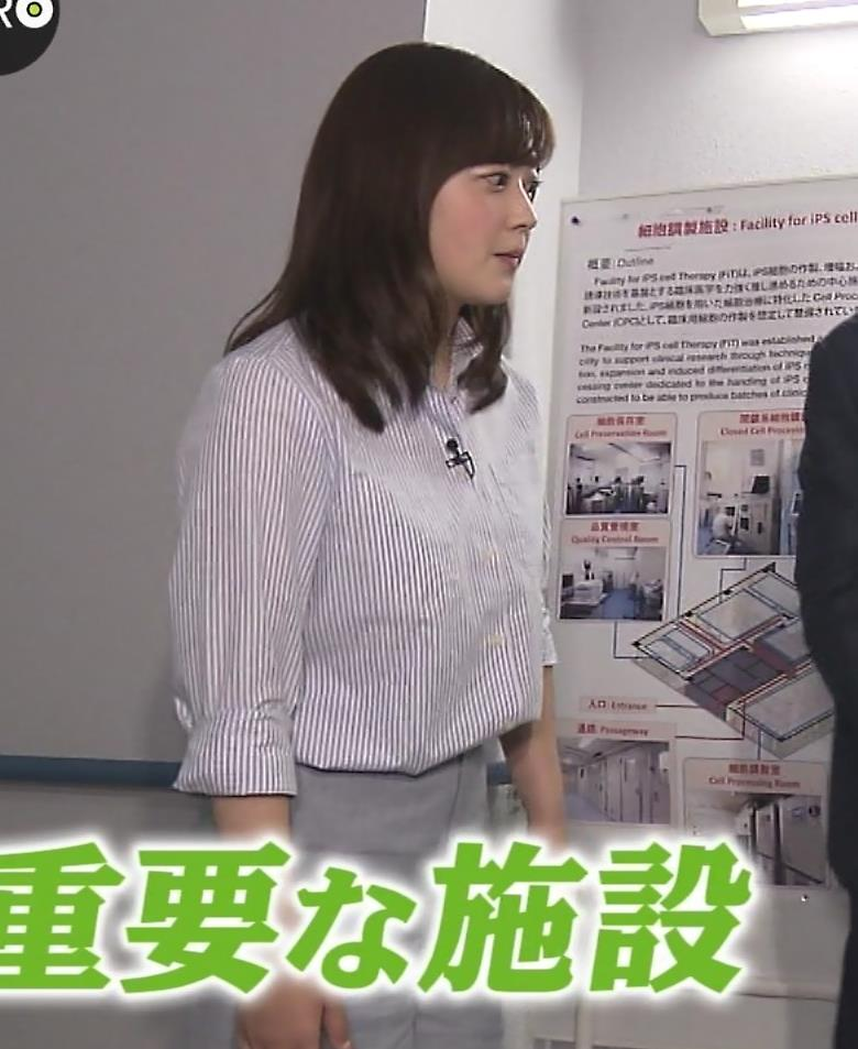 水卜麻美アナ ピタパンお尻キャプ・エロ画像9