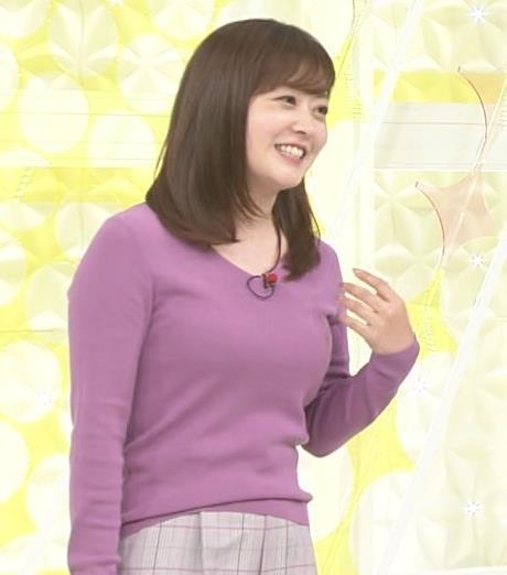 水卜麻美アナ スッキリ!でおっぱいが大変なことになっていた!!キャプ・エロ画像2