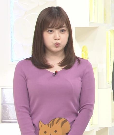 水卜麻美アナ スッキリ!でおっぱいが大変なことになっていた!!キャプ・エロ画像11
