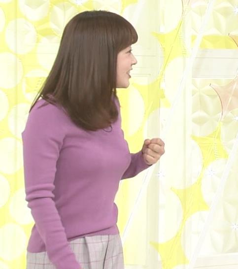 水卜麻美アナ スッキリ!でおっぱいが大変なことになっていた!!キャプ・エロ画像3