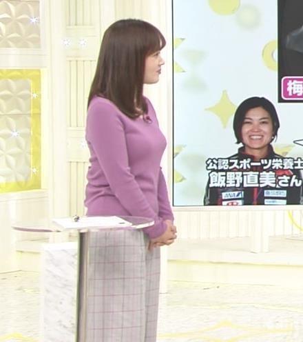 水卜麻美アナ スッキリ!でおっぱいが大変なことになっていた!!キャプ・エロ画像5