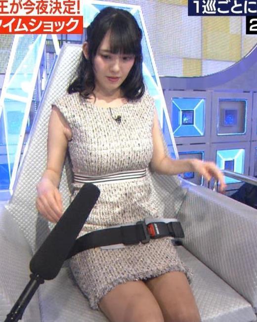 三浦奈保子 巨乳とパンちらがエロすぎるキャプ画像(エロ・アイコラ画像)