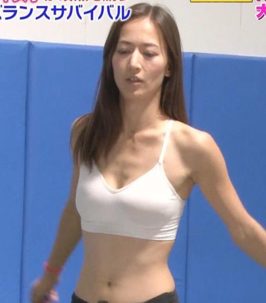 宮河マヤ 美人モデルのエロいスポブラ「超人女子」キャプ画像(エロ・アイコラ画像)