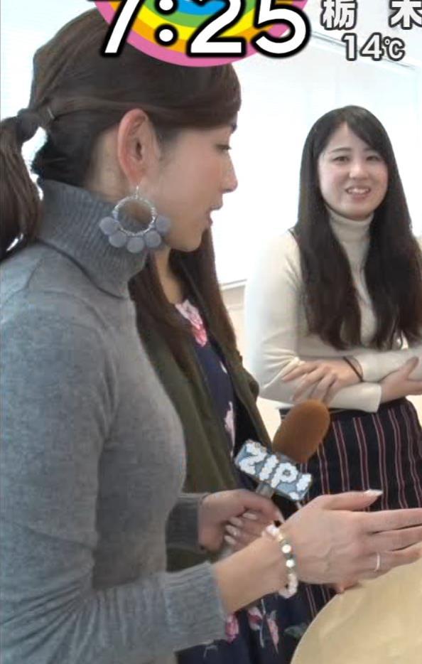 宮崎瑠依 クッキリ!ニット横乳。キャプ・エロ画像7