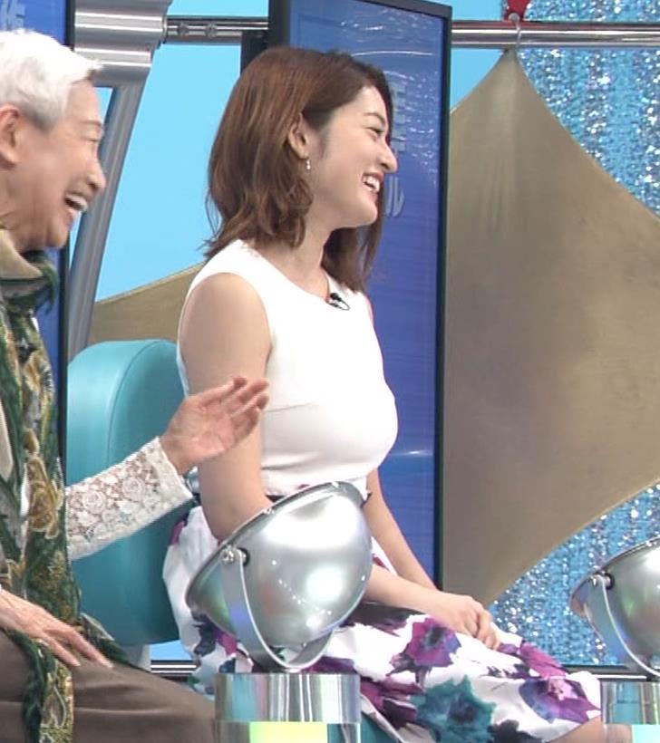 宮沢セイラ 巨乳がパツパツのノースリーブキャプ・エロ画像3
