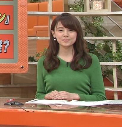 宮澤智アナ 細身なのに乳がデカくてエロいキャプ・エロ画像
