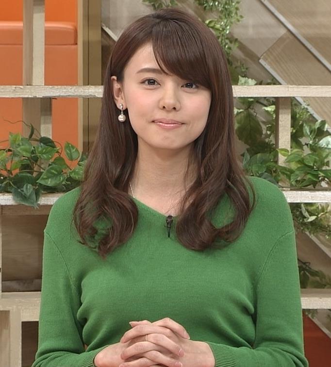 宮澤智アナ 細身なのに乳がデカくてエロいキャプ・エロ画像2
