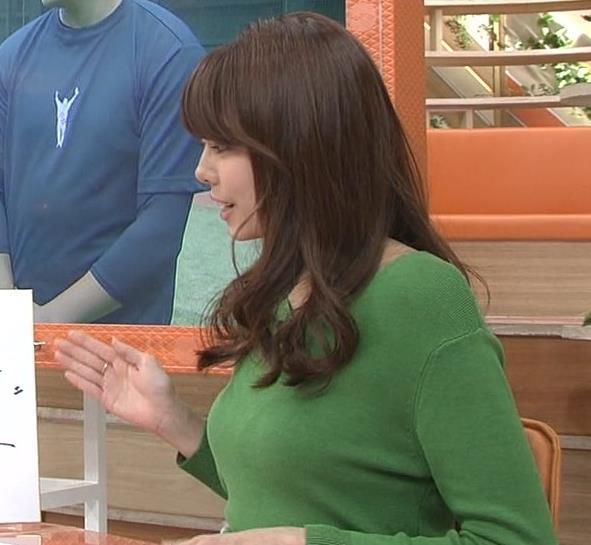 宮澤智アナ 細身なのに乳がデカくてエロいキャプ・エロ画像11