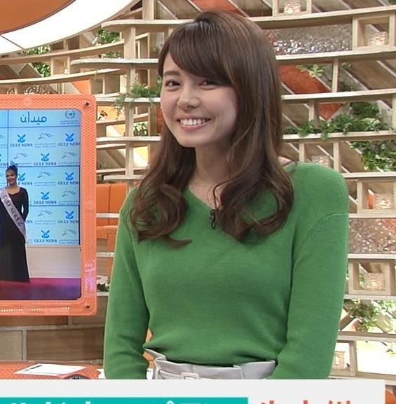 宮澤智アナ 細身なのに乳がデカくてエロいキャプ・エロ画像4