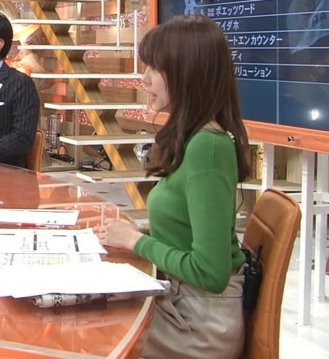 宮澤智アナ 細身なのに乳がデカくてエロいキャプ・エロ画像5