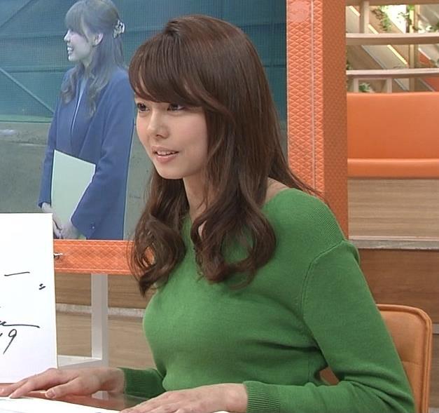 宮澤智アナ 細身なのに乳がデカくてエロいキャプ・エロ画像7