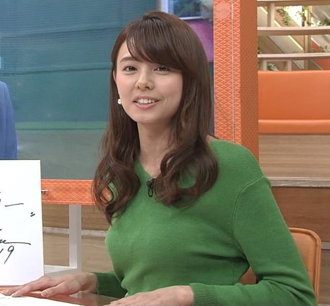 宮澤智アナ 細身なのに乳がデカくてエロいキャプ・エロ画像8