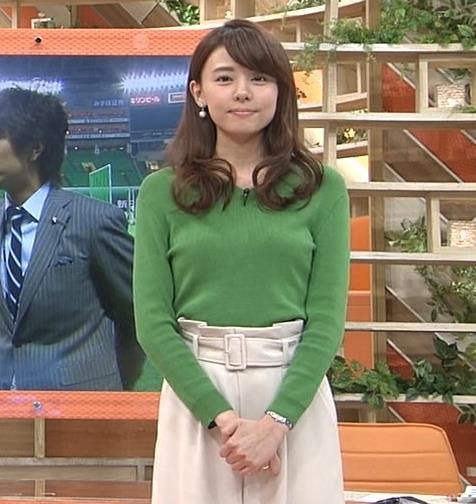 宮澤智アナ 細身なのに乳がデカくてエロいキャプ・エロ画像10