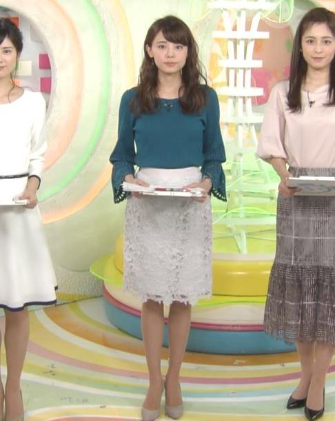 宮澤智アナ エロかわいいニット乳♡キャプ・エロ画像
