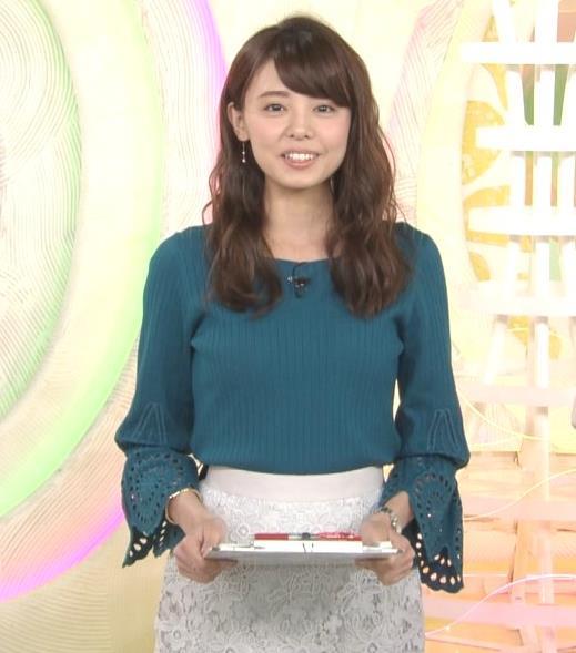 宮澤智アナ エロかわいいニット乳♡キャプ・エロ画像5