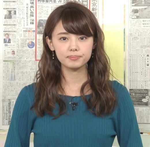 宮澤智 エロかわいいニット乳♡キャプ画像(エロ・アイコラ画像)