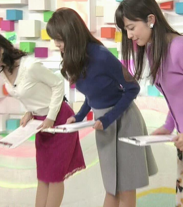 宮澤智アナ ふっくらニット乳がエロかったキャプ・エロ画像3