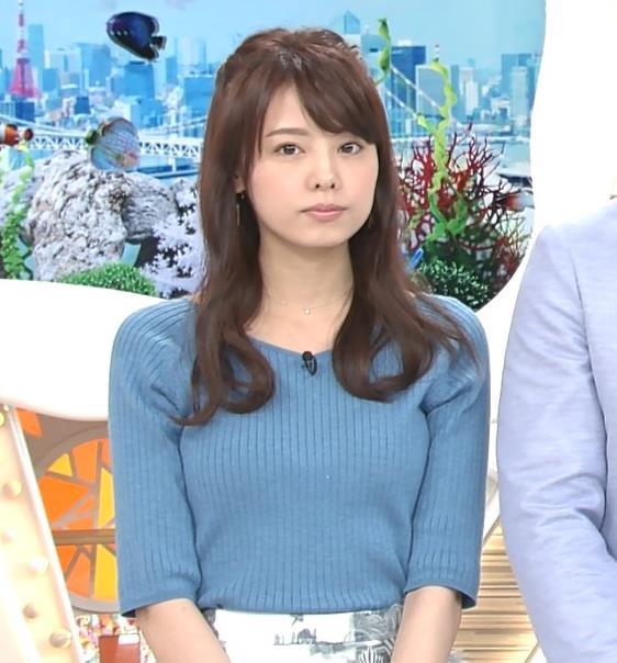 宮澤智アナ このニットおっぱいはエロいよねキャプ・エロ画像2