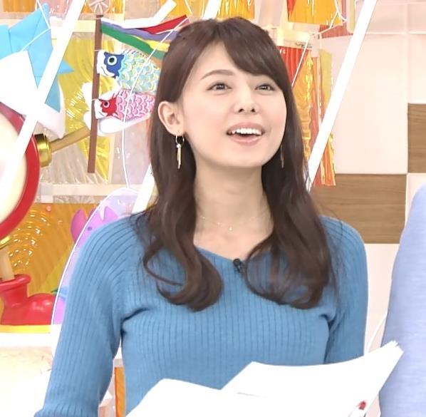 宮澤智アナ このニットおっぱいはエロいよねキャプ・エロ画像11
