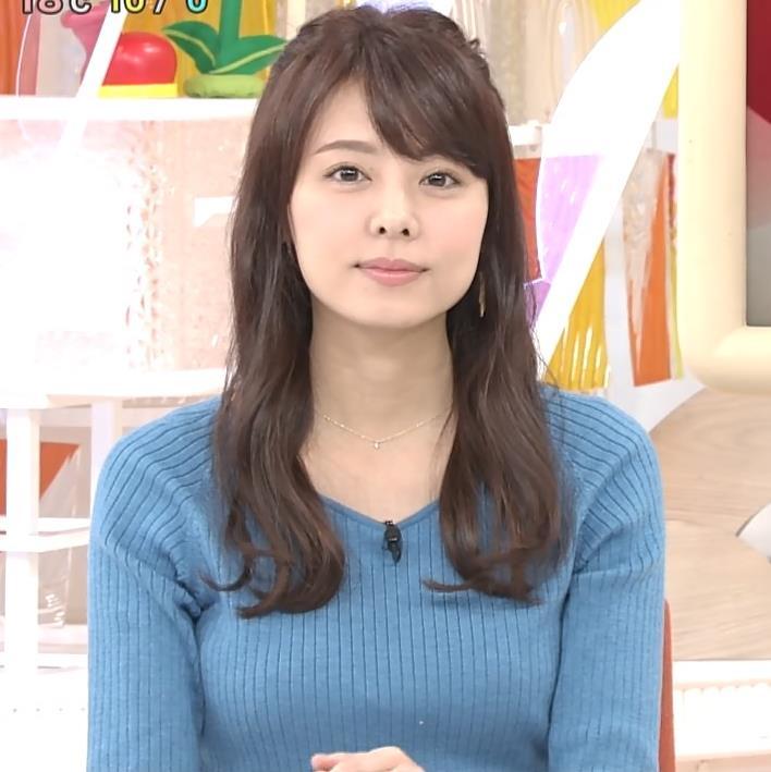 宮澤智アナ このニットおっぱいはエロいよねキャプ・エロ画像3