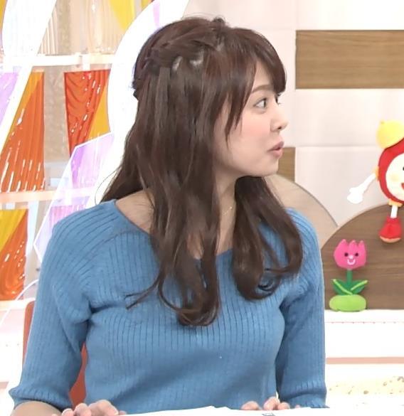 宮澤智アナ このニットおっぱいはエロいよねキャプ・エロ画像5