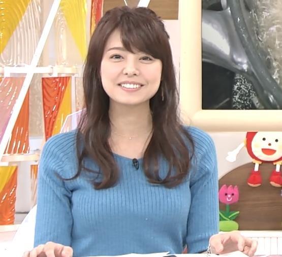 宮澤智アナ このニットおっぱいはエロいよねキャプ・エロ画像7