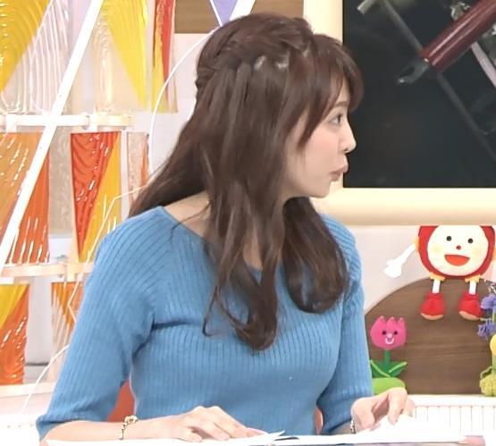 宮澤智アナ このニットおっぱいはエロいよねキャプ・エロ画像8