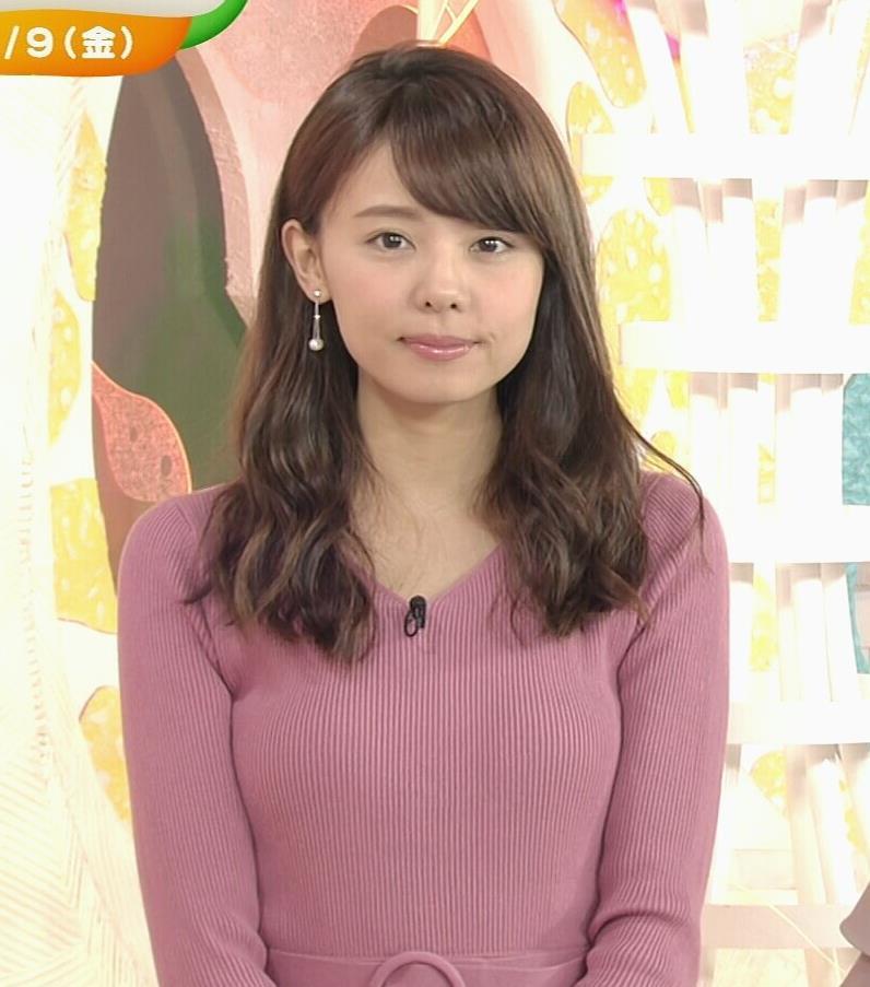 アナ ニット横乳★キャプ・エロ画像