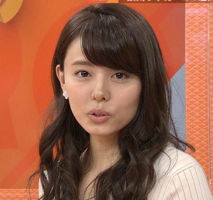 宮澤智アナ 盛っているのかデカくなったのか、ちっと横乳がエロいキャプ・エロ画像3