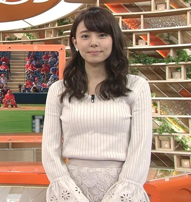 宮澤智アナ 盛っているのかデカくなったのか、ちっと横乳がエロいキャプ・エロ画像4