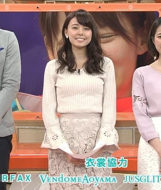 宮澤智アナ 盛っているのかデカくなったのか、ちっと横乳がエロいキャプ・エロ画像7
