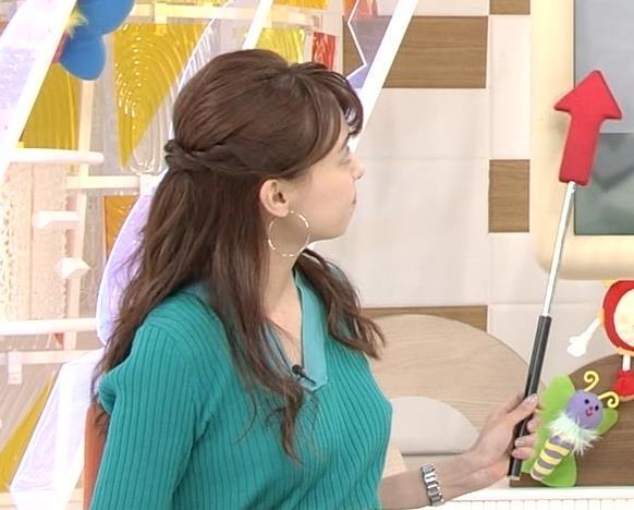 宮澤智アナ ニットおっぱいが大きくてエロイんだが…キャプ・エロ画像6