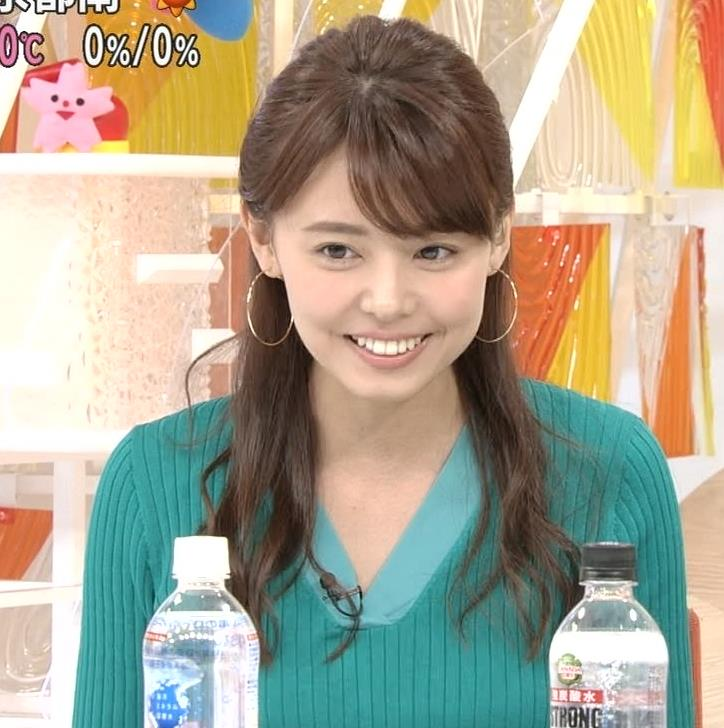 宮澤智アナ ニットおっぱいが大きくてエロイんだが…キャプ・エロ画像9