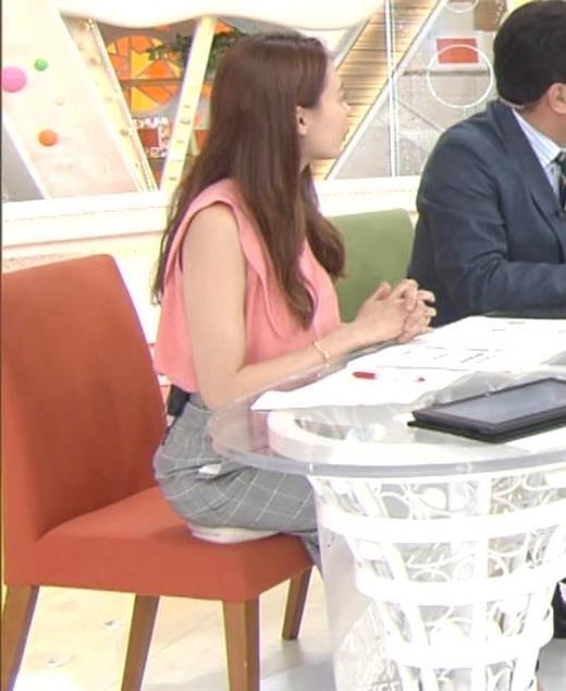 宮澤智 座高稼ぎ?お尻の下に何か敷いてるキャプ画像(エロ・アイコラ画像)