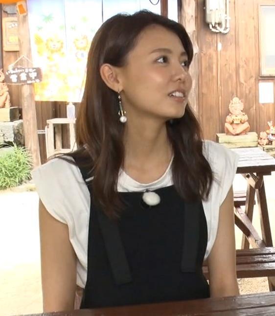 宮澤智アナ ちょっとワキちらキャプ・エロ画像